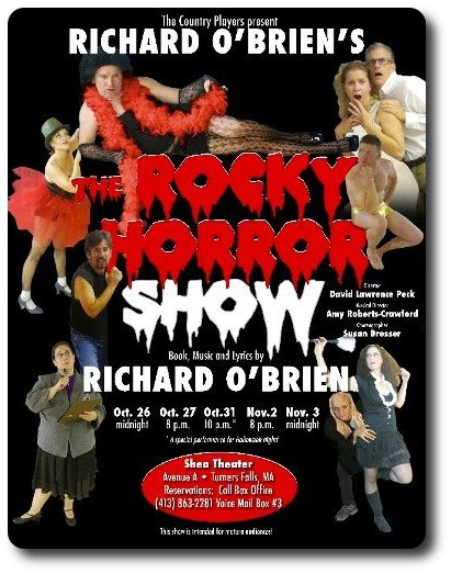 Logo for The Rocky Horror Show